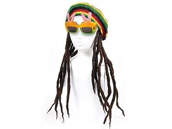 Alsino Hippie Kostum Rasta Mann Fasching Karneval Verkleidung Kv 09