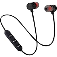 Wow Shop Mini Universal Wireless Single in-Ear Sweat-Proof Sports Headphones, Noise-reducing Stereo Cycling, Office, Work, Driving Compatible with All Smartphones