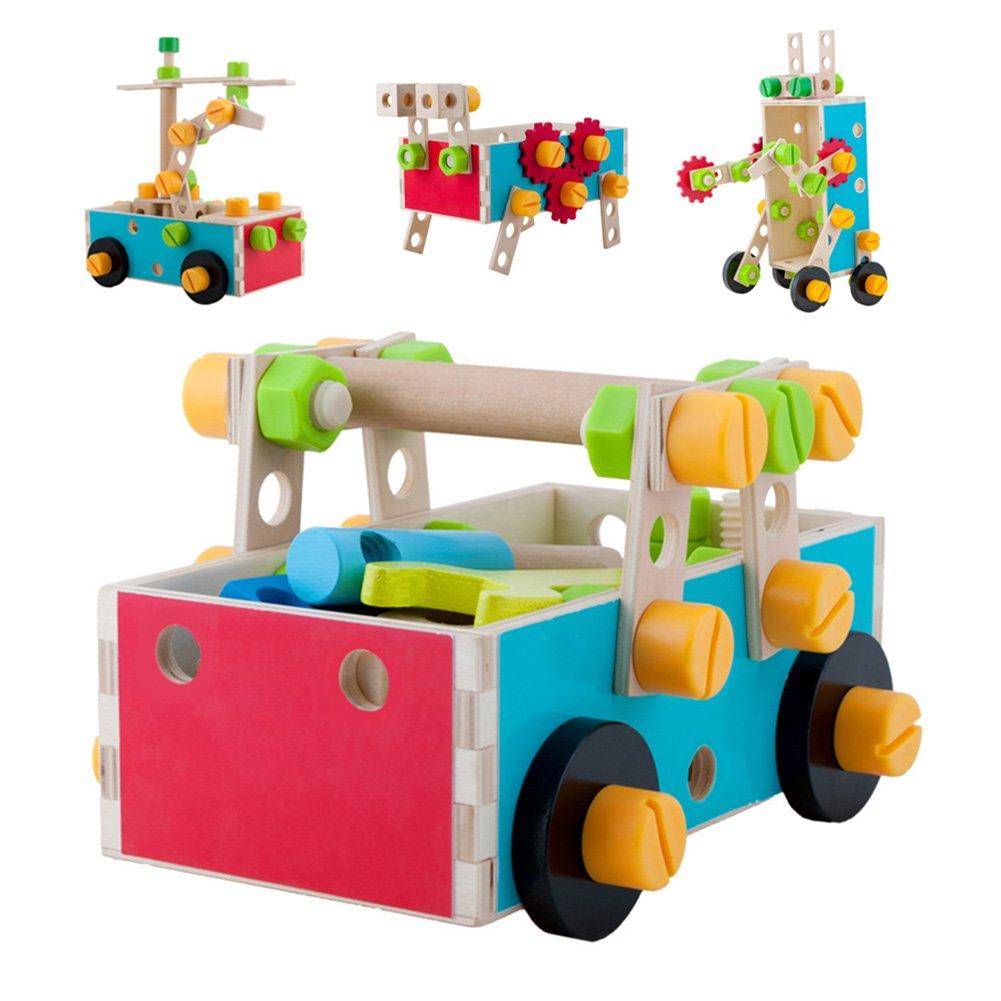 Acooltoy Werkzeugkasten Kinderspielzeug