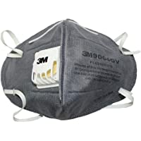 3M 9004GV Anti Pollution Mask, Pack of 5, Grey