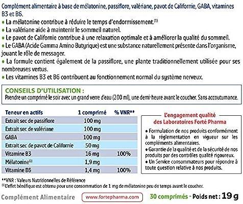 FORTE PHARMA FORTE NOCHE 8H 30 COMPRIMIDOS: Amazon.es: Salud y ...