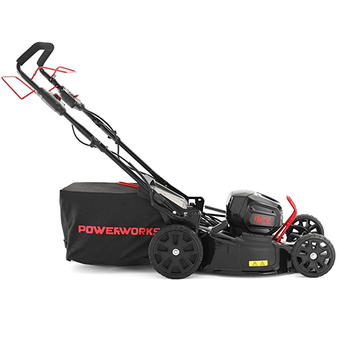 PowerWorks P-82RM46S - Cortacésped con batería RM46S 3-IN-1 (82 V ...