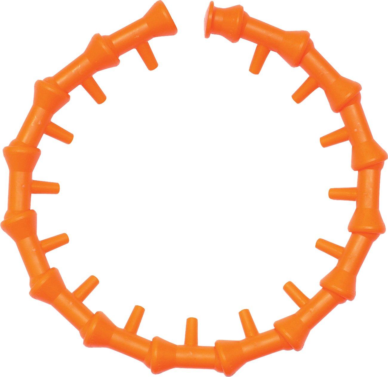 """Loc-Line Coolant Hose Component, Acetal Copolymer, Circle Flow Nozzle Kit, 1/4"""" Hose ID"""