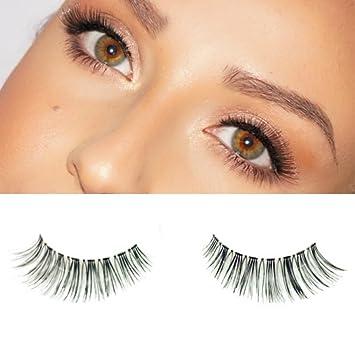 03ad370c7be Amazon.com : Milanté Beauty Precious False Lashes Wispy Vegan Black Natural  Thick Long Full Reusable Fake Strip Eyelashes : Beauty