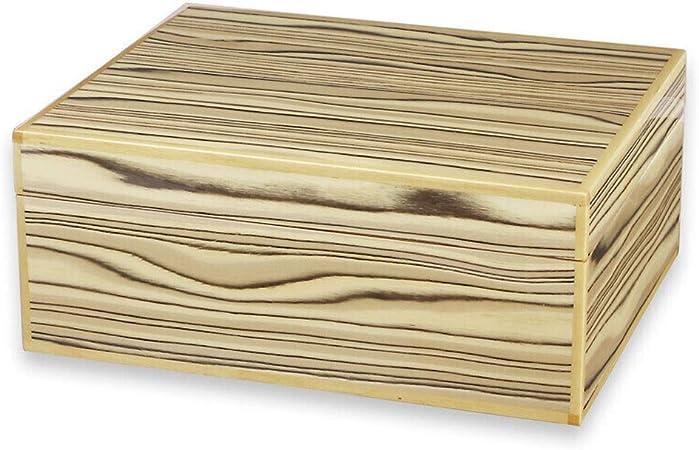Caja de cigarros, Caja de cigarros de Madera de Cedro Set de Madera portátil Caja de cigarros humidificador de cigarros de Madera SIDA 40 Paquetes (Color : A): Amazon.es: Hogar
