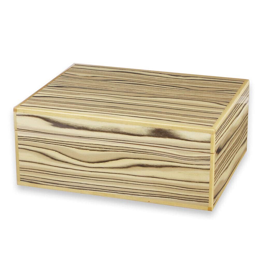 Jia He シガーボックス シガーボックス、シダーウッドシガーボックスポータブル木製セットシダウッドシガーヒュミドールシガーボックス40パック @@ B07SGPCV36