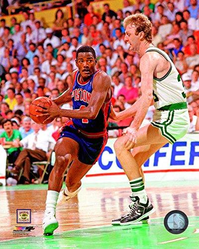 (Joe Dumars Detroit Pistons NBA Action Photo (Size: 8