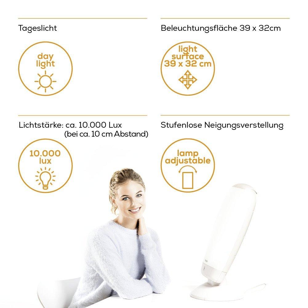 Beurer TL80 - Lámpara de luminoterapia (10.000 lux): Amazon.es: Salud y cuidado personal