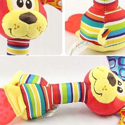 Hilai Pequeño Juguete de la Felpa Cama Cochecito Colgando muñeca Suave Educación Perro Lindo 1 Poco traqueteo: Amazon.es: Productos para mascotas