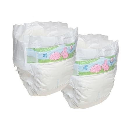 Bambo - Pañales para bebés prematuros (2 unidades, 1 a 3 kg): Amazon.es: Salud y cuidado personal