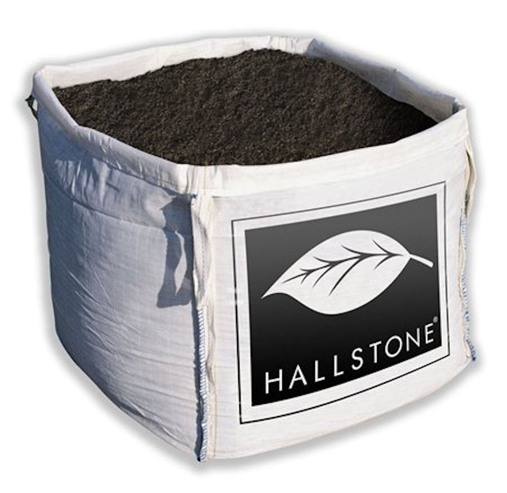 LARGE BULK DUMPY BAG HALSTONE SCREEDED TOPSOIL 0.6M3