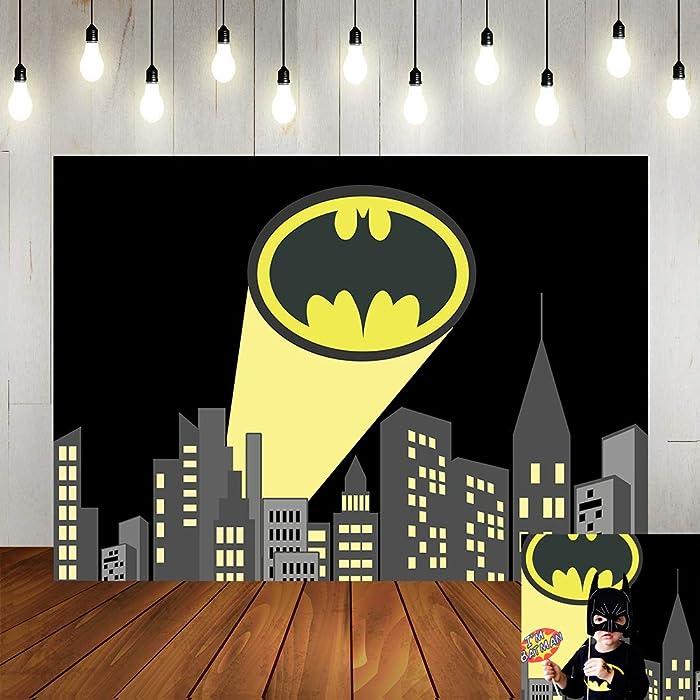 Top 8 Batman Party Decor