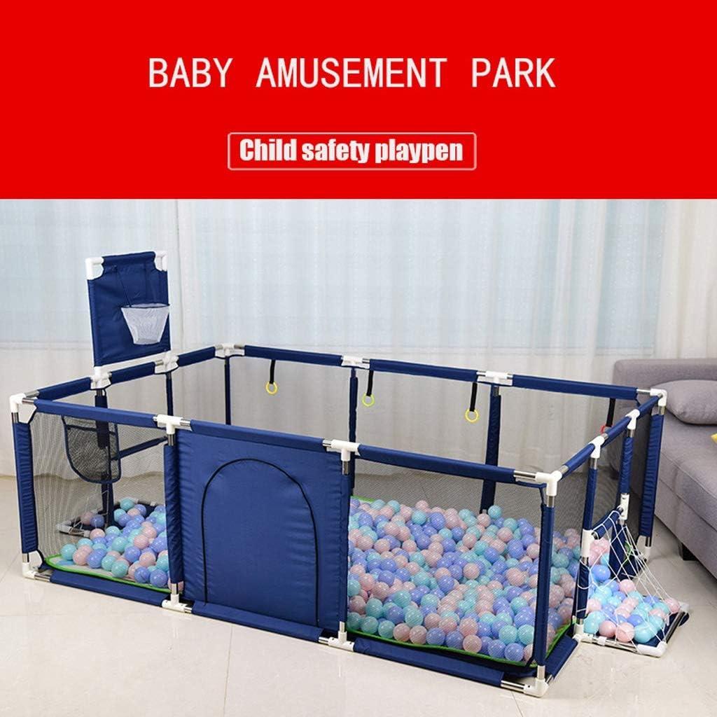 Tragbarer Spielzaun Babyplaypen for Kinder Pool-B/älle for Neugeborenen Baby Zaun Laufstall for Baby Pool Kinder Kindersicherheitsbarriere Spielen Yard Sicherer Spielbereich f/ür drinnen oder drau/ßen