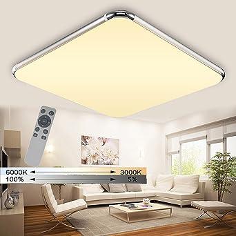 WYBAN 48W LED Wandlampe Dimmbar Deckenleuchten Für Wohnzimmer ...