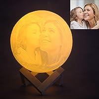 Regalo de foto personalizado luna lampara personalizada lampara de luna personalizada lámpara personalizada luz de luna…
