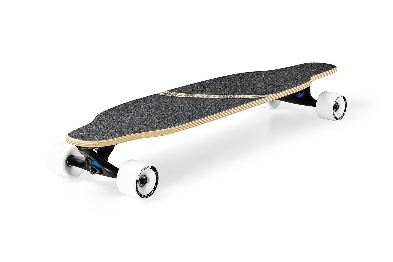 Pixel Flow Cruiser Longboard komplett Board B0744KW4DT Longboards Ausgezeichnetes Handwerk Handwerk Handwerk 22256d