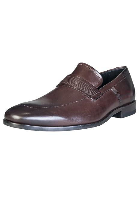 Hugo Boss - Mocasines de Piel para Hombre marrón marrón: Amazon.es: Zapatos y complementos