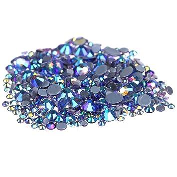 1fd3f19287 Nizi Jewelry Black Diamond AB Color Hotfix Rhinestones Strass Glass ...