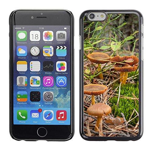 """Bild Hart Handy Schwarz Schutz Case Cover Schale Etui // M00133340 Pilze Wald Herbst Bronze // Apple iPhone 6 PLUS 5.5"""""""