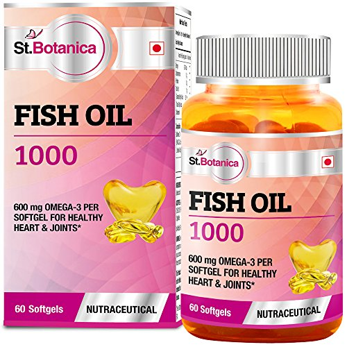 St.Botanica Fish Oil 1000 mg (Double Strength)
