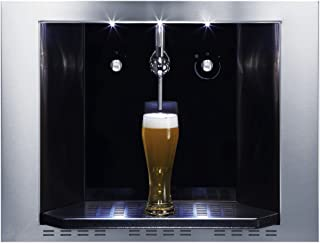CDA BVB4SS Integrated Compact Built-In Stainless Steel Draught Beer Dispenser