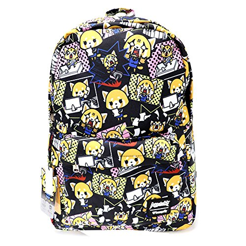 Loungefly x Aggretsuko Print Nylon Backpack (One Size, Multi)