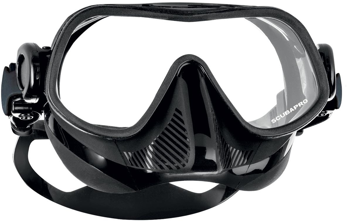 ScubaPro Steel Comp Freediving Mask (Black) by Scubapro