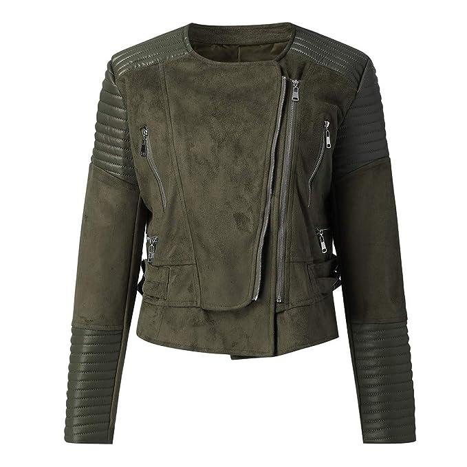 Frauen Stilvolle Motorrad Jacken Herbst Biker Jacke Mantel Outwear Neu