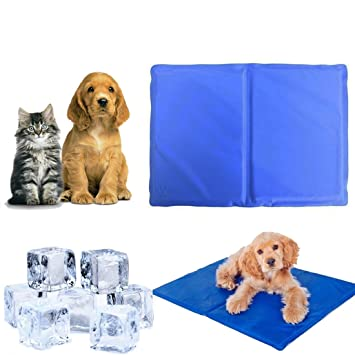 Takestop® - Tapete refrigerante para mascotas, 50x 40cm, alfombrilla
