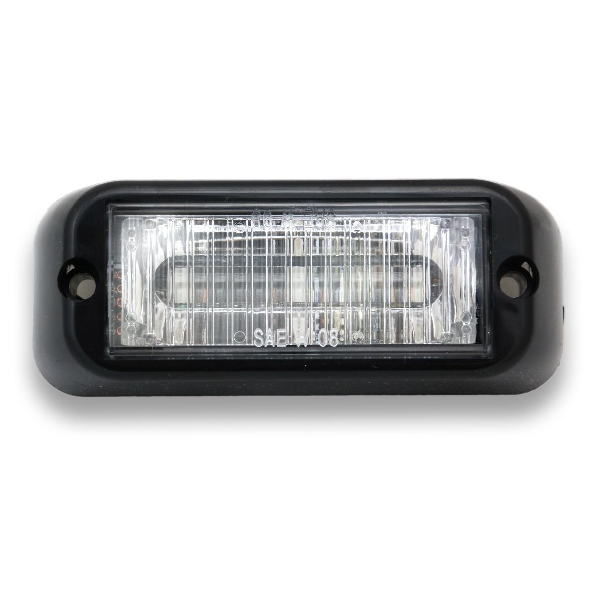 Abrams- EG-300-W Edge 3 LED Grill Light, White/White by Abrams