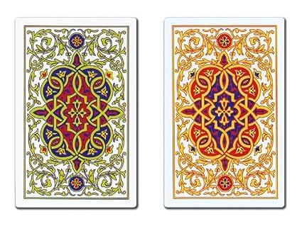 Amazon.com: Oro Juego de cartas de plástico – Minimal ...