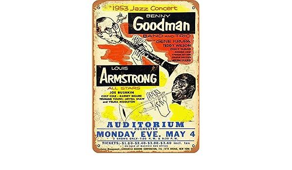 Kilburn 1953 Benny Goodman y Louis Armstrong en Nueva York Retro ...