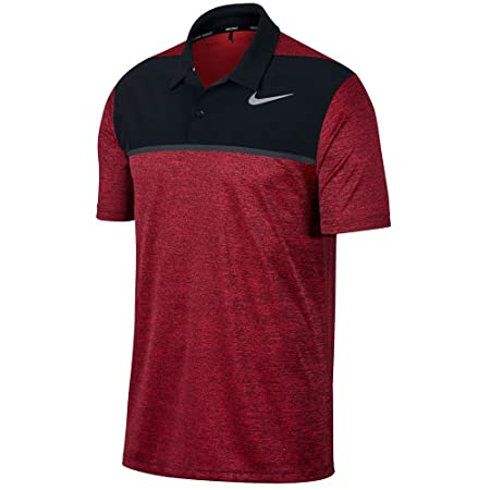 4c289dd27a4c Amazon.com   Nike TW Dry Fit Blocked Golf Polo 2017   Sports   Outdoors
