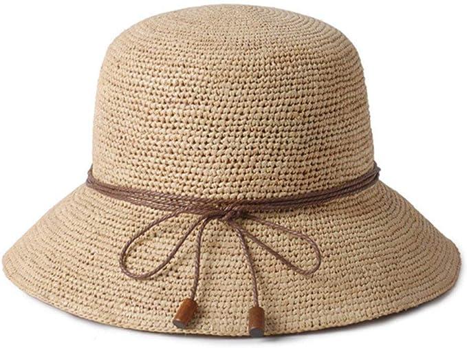 Sombrero De Verano para Mujer Sombrero De Paja De Sombrero Paja ...