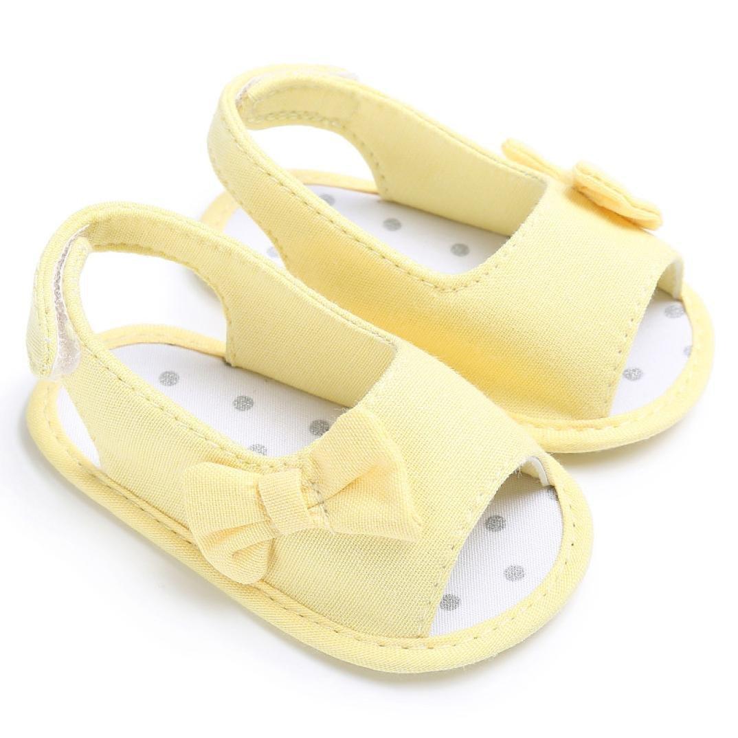 54bfa616f6b Zapatos Bebé primeros paso ❤ Amlaiworld Sandalias de bebé Recién nacido  calzado Zapatillas Zapatos de ...