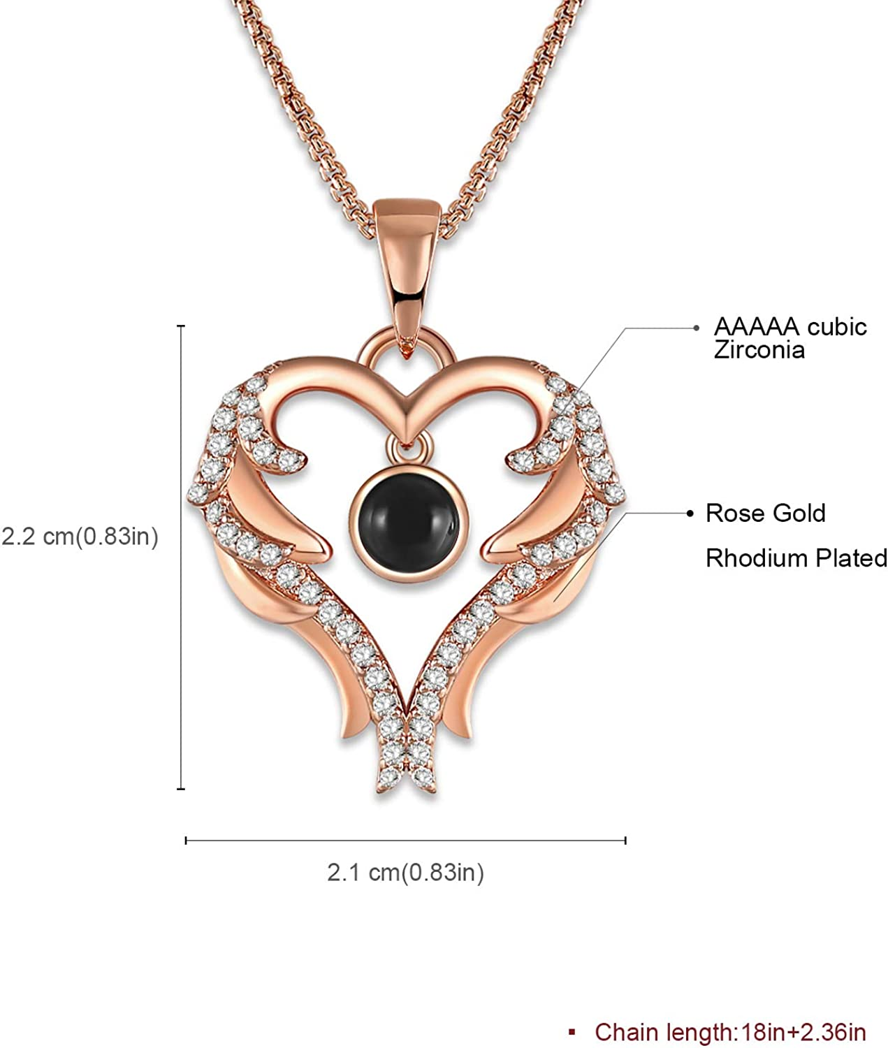 decent necklace tag present for her Gold M Heart Pearl Necklace Love Story in Florence