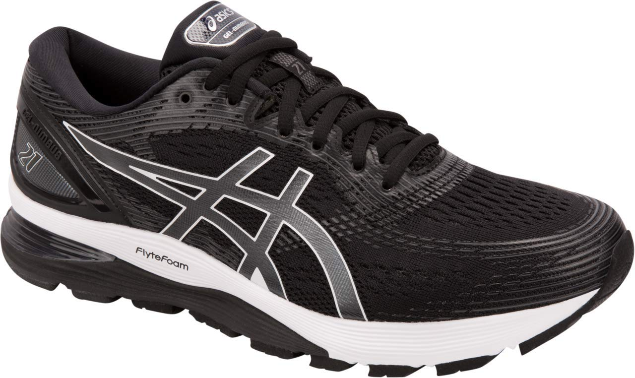 ASICS Gel-Nimbus 21 Men's Running Shoe, Black/Dark Grey, 6 D US by ASICS (Image #1)