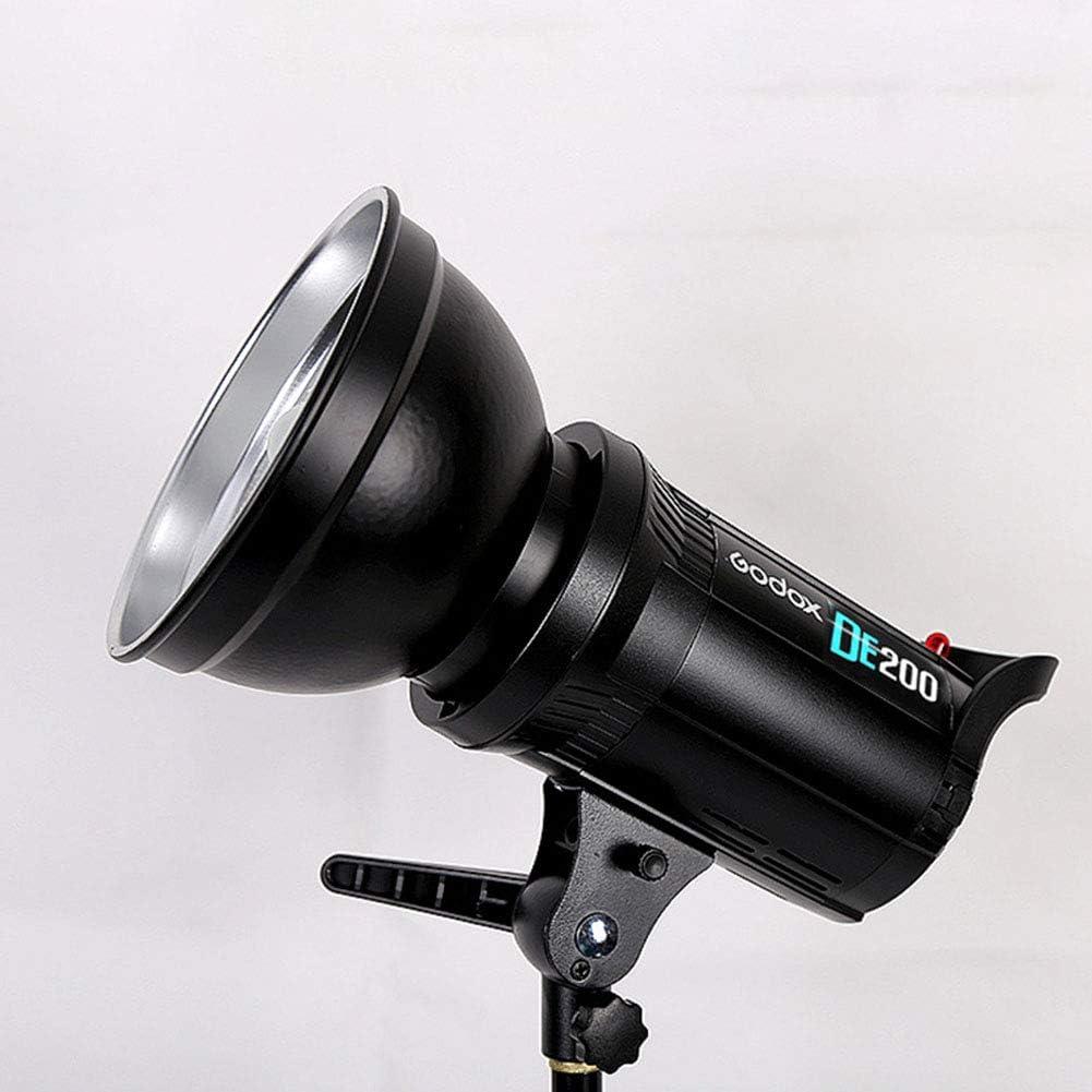 RONSHIN DE200 DE300 200Ws//300Ws Compact Studio Lighting Lamp Head Flash Light Strobe 220V//110V DE300 European regulations