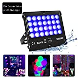 KINGBO Outdoor Blacklights High Power 30W UV LED Flood Light for DJ Disco Club,Night Clubs,UV Light Glow Bar,Birthday Parties,Blacklight Party,Aquariums and Other Entertainment Venues Stage Lighting