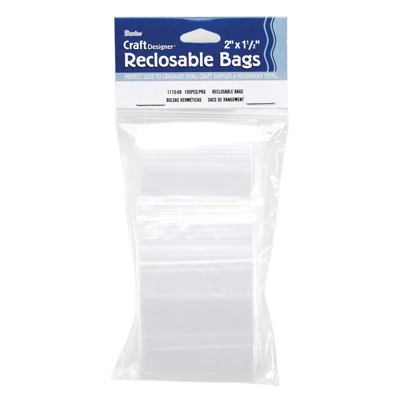 Amazon.com: Bulk Buy: Darice DIY Crafts Bags Reclosable Poly ...