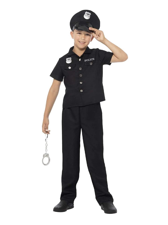 Generique - Disfraz policía de Nueva York niño 12-14 años (152/164 ...