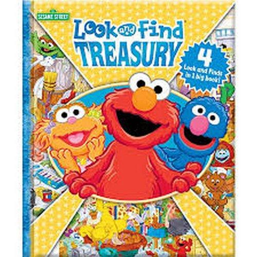 Sesame Street Look and Find Treasury -