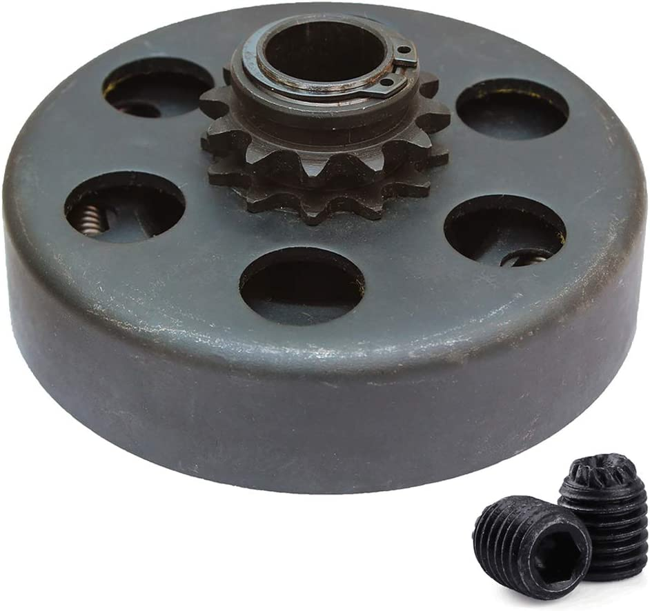 Centrifugal Clutch, Go Kart Clutch 3/4 Bore 12T for 35 Chain, Up to 6.5 HP, Perfect for Go Kart, Minibike and Fun Kart Engine 3/4 Bar