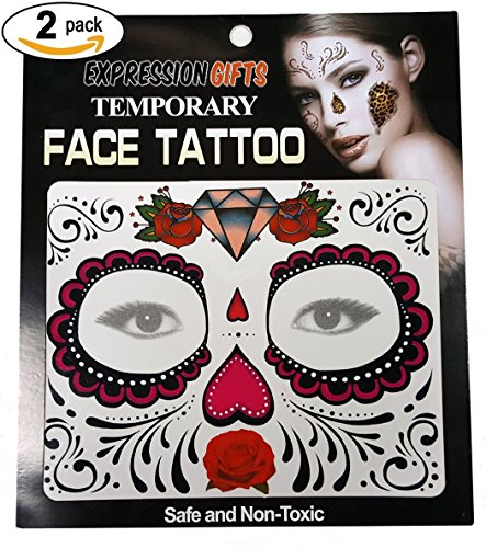 Roses (Day Of Dead Makeup Kit)
