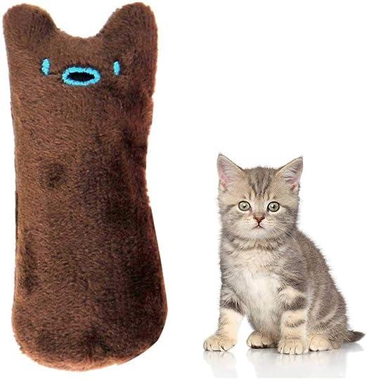 Juguete de peluche para gatos Auoker para masticar y limpiar los dientes de los gatos, juguetes para perros y gatos, juguetes creativos, juguetes para gatos y gatos: Amazon.es: Productos para mascotas