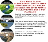img - for The Rich Man's Marketing, Godfather Principles and Sales Models for DVD Movie Collections Biz 3 CD Package book / textbook / text book