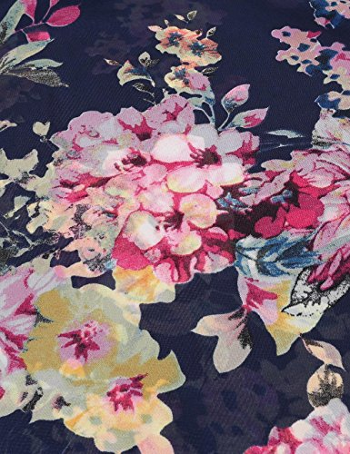 Summer Dress dozenla Fashion Print Beach Long Floral Dresses Maxi Women Dress Dress Beach Blue tqnqr6wz8x