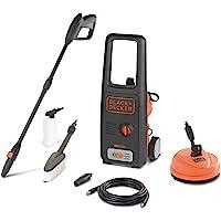 Black+Decker BXPW1500PE Hogedrukreiniger met Patio Cleaner en Vaste Borstel (1500 W, 120 Bar, 390 l/u)