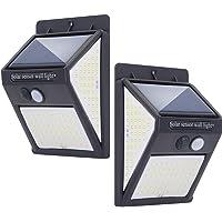 Luz Solar Exterior 140 LED Lámparas Solares con Sensor de Movimiento Luces Solares Led Exterior Impermeable con 3 Modos…