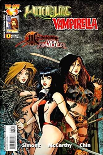 Witchblade Magdalena Vampirella Tomb Raider 1 Comic Arthur Adams